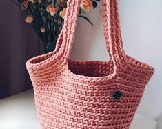 Knit goods by KnittForYouTreasures Straw Bag, Etsy Seller, Knitting, Trending Outfits, Unique Jewelry, Handmade Gifts, Bags, Vintage, Fashion