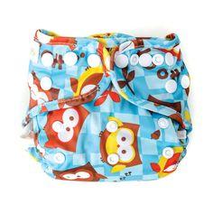 Bumkins Newborn Snap Cloth Diaper Cover