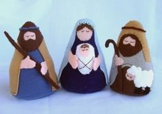 Nativity Felt Set - Patterns and Instructions | YouCanMakeThis.com
