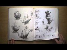 The Croods Sketchbook / Nov 2008 - Dec 2010 PART II - YouTube - Nicolas Weis