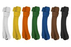 Judo Colored belts