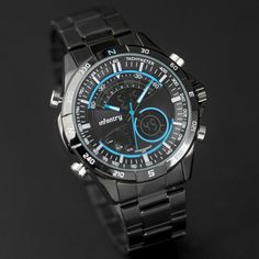 Men Sports Watches LED Display Stainless Steel //Price: $46.78 & FREE Shipping //     #inspiration #lifestyle #amrshops