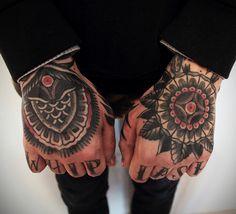 """sergey-vaskevich: """" Healed """" hand tattoo"""