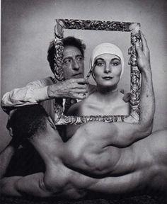 Salvador Dali by Carl Van Vechten