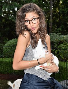 Zendaya at Just Jared's Fall Fun Day in LA 10/24/15
