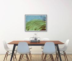 Dessin peinture crayon bleu vert bourgogne œuvre Crayon, Conference Room, Dining Table, Furniture, Home Decor, Abstract Drawings, Duck Egg Blue, Paint, Decoration Home