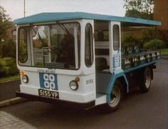 The good old Co-oP milk float 1970s Childhood, My Childhood Memories, Childhood Toys, Bad Memories, 80s Kids, I Remember When, Teenage Years, Before Us, The Good Old Days