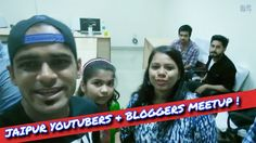 First Meetup With Jaipur Youtubers and Bloggers | #DshadowVlogs