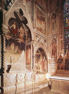 Maso di Banco - Tomba con l'affresco della Resurrezione di un membro della famiglia Bardi - 1335-1340 - Cappella Bardi di Vernio - Basilica Santa Croce, Firenze