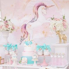 Magical Purple and Gold Unicorn Party - TINSELBOX