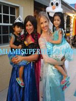 Bringing character princesses to life at your kids birthday party. We bring the best of the best performers , singers performing princess Elsa , Anna , Ariel , belle and more. Even the evil queen or Maleficent is a choice to bring to your kids birthday party in Miami. https://miamisuperhero.com/princess-party/