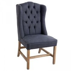 Carver Chair Navy Front