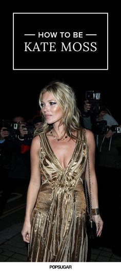 Kate Moss's most badass moments.
