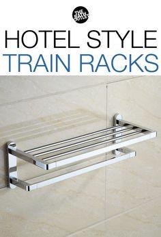 Polished Chrome Towel Rack In 2018 Hotel Style Train Racks Pinterest And Finish