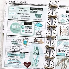 Mini Happy Planner layouts from Devale Ellis ( Planner Layout, Planner Pages, Planner Stickers, Planner Ideas, Planner Diy, Bujo, Holiday Planner, Mini Happy Planner, Bullet Journal