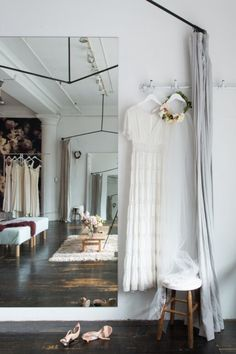 Take a Tour of Stone Fox Bride's Stunning Office Studio | StyleCaster