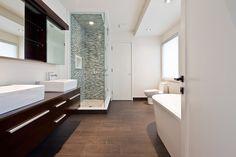 modern bathroom by Peter A. Sellar -