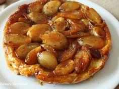 Découvrez la recette Tatin d'échalotes sur cuisineactuelle.fr.