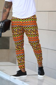 Image of The kendu pants – fancy – Men's style, accessories, mens fashion trends 2020 Couples African Outfits, African Dresses Men, Latest African Fashion Dresses, African Print Fashion, African Shirts For Men, African Attire For Men, African Clothing For Men, African Wear, African Inspired Clothing