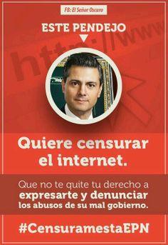 #CensuramestaEPN