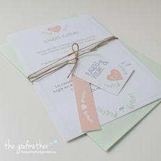 Invitación boda shabby chic- invitación boda romántica- invitación boda diferente- Invitación shabby chic formato tarjeta http://www.thegodmothergoodies.es/shop/es/162-invitación-shabby-chic.html