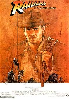 """Raiders of the Lost Ark (1981)  """"Archeologist and adventurer Indiana Jones is hired by the US government to find the Ark of the Covenant before the Nazis"""""""