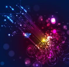 Abstract Lighting Vector Background | Free Vector Graphics | All Free Web Resources for Designer - Web Design Hot!