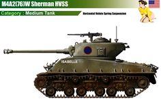 M4A2(76)W Sherman HVSS