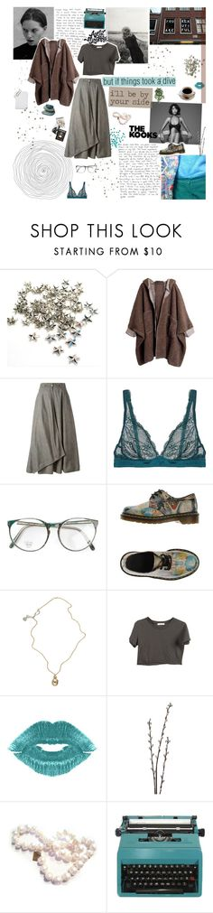 """HEY NOW"" by d0ntblink ❤ liked on Polyvore featuring INC International Concepts, Krizia, Cosabella, Dr. Martens, Jessica de Lotz Jewellery, Manic Panic, Linea, Chic Jewel Couture, Assouline Publishing and women's clothing"