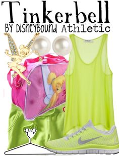 Tinkerbell athletic