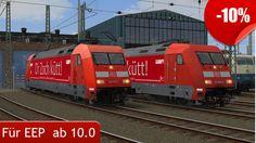 """Sie erhalten das Set """"DBAG BR 101 062-8 und BR 101 114-7 Werbeloks - Köln Tourismus GmbH, EpVI """" bis zum 12.04.2017 zum Einführungspreis. Jetzt kaufen: https://eepshopping.de/?view=program_detail&ID_PROGRAM=7707"""