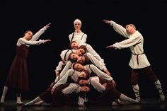 Les Noces, everyone should see this ballet choreographed by Bronislava Nijinska.