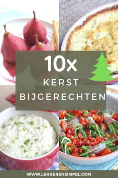 side dishes for Christmas - Tasty and Simple - Kerst Healthy Recipes, Whole Food Recipes, Christmas Food Treats, Love Food, Side Dishes, Food And Drink, Yummy Food, Tasty, Favorite Recipes