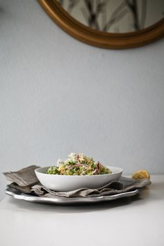 Brussel Sprout Salad with Red Onion [veganize]