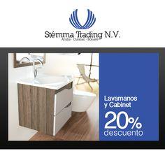 Lavamanos y kashi di baño moderno, obtenibel na Stemma Trading N.V.