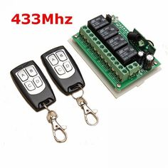 Buy LEORY Channel Wireless Remote Control Switch Integrated Circuit With 2 Transmitter DIY Replace Parts Tool Kits Iphone 5c, Esp8266 Wifi, Channel, Receptor, Electronic Devices, Home Automation, Congo, Diy Kits, Grenada