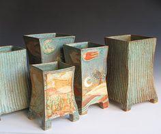 Margaret Wozniak Ceramics. love these.