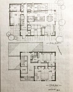 Plan Rose Seidler House Arquitectura Plantas