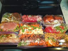 Dancing in the Kitchen: Freezer Meals, take 1