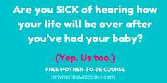 This TOTALLY worried me when I was pregnant. You too? Can I help? It's FREE ---->