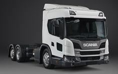 Descargar fondos de pantalla Scania L320, 2018, los camiones nuevos, nuevos L320, de la serie L, Scania