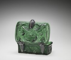 Épines (Thorns) by Rene #Lalique, designed in 1911 | Corning Museum of #Glass