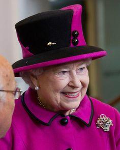 Queen Elizabeth, May 1, 2012