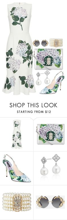 """""""Dolce & Gabbana"""" by quirico ❤ liked on Polyvore featuring Dolce&Gabbana and Blue Nile"""