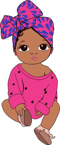 Art Black Love, Black Girl Art, Art Girl, African American Art, African Art, Afro Ponytail, Drawings Of Black Girls, Black Art Painting, Black Girl Cartoon