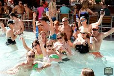 Let your 4th of July plans begin with the Golden Nugget night swim.