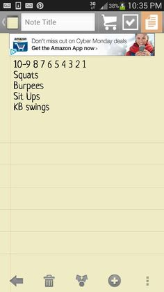 i did a version with count-down from 15 and with atomic sit ups instead of regular sit ups. i like its simplicity.