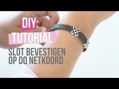 DIY TUTORIAL: Basistechniek DQ slot op netkoord bevestigen – Zelf sieraden maken