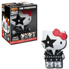 Funko Hello Kitty/Kiss - Starchild Vinyl Figure by Funko. $11.44. From the Manufacturer                Hello Kitty Kiss has finally arrived. These pop vinyl figures are adorable and ready to rock. The whole gang is here - Demon, Catman, Starchild and Spaceman are ready for your bedroom or office now.                                    Product Description                Hello Kitty Kiss has finally arrived. These pop vinyl figures are adorable and ready to rock. Th...