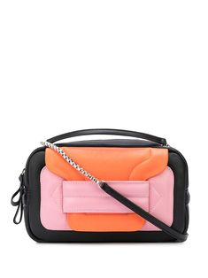 PIERRE HARDY ALPHA PADDED CLUTCH. #pierrehardy #bags #shoulder bags #clutch #leather #hand bags Pierre Hardy, Block Design, Hand Bags, Luxury Branding, Color Blocking, Shoulder Bags, Fashion Accessories, Women Wear, Black Leather